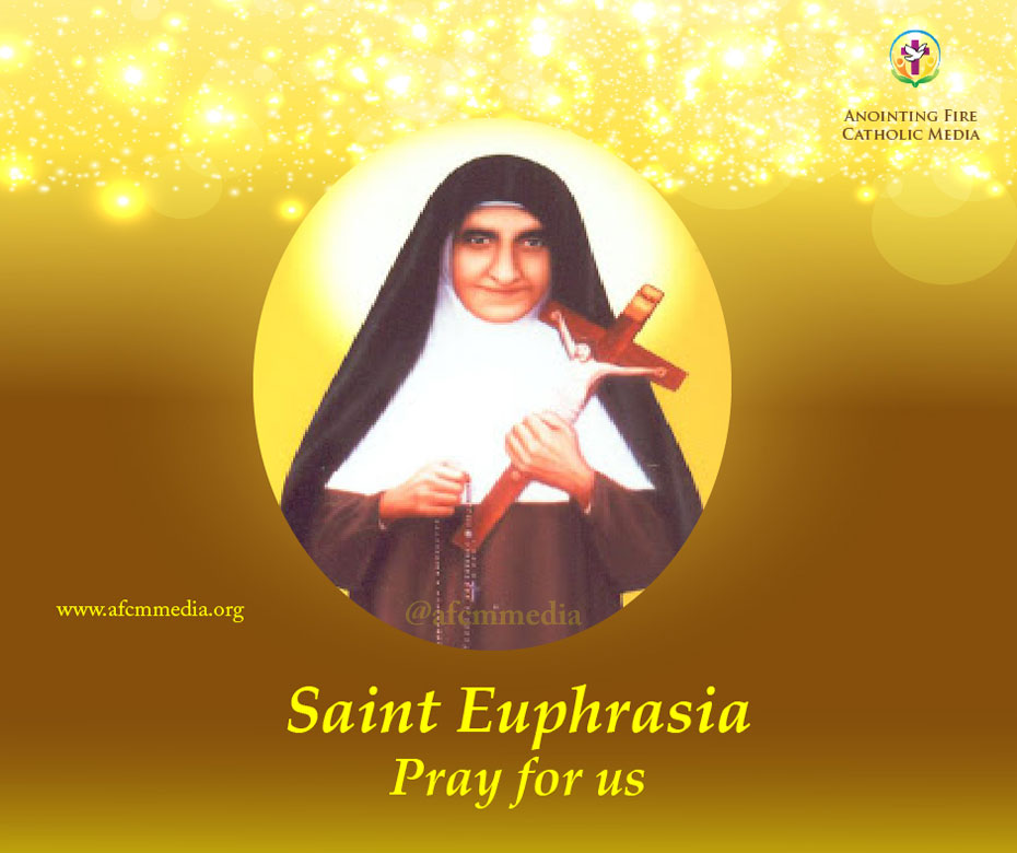 Catholic Saints - Saint Euphrasia